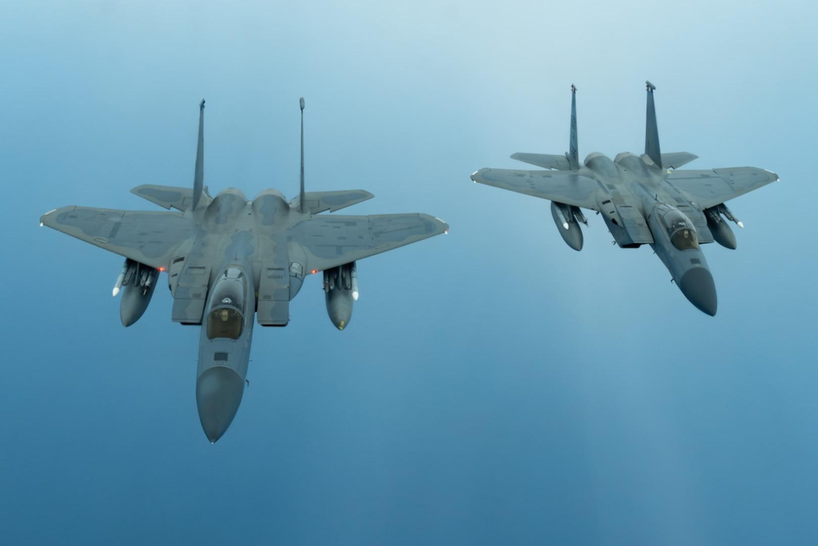 Kadena F-15s Celebrate 40 Years of Air Superiority