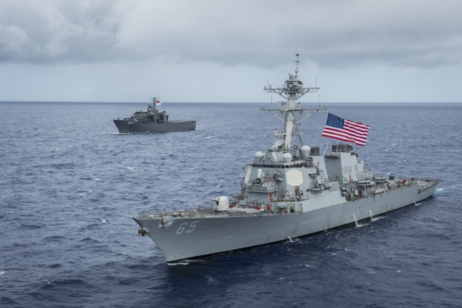 U.S., Singapore Strengthen Partnership with Pacific Griffin Exercise