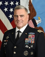 U.S. Army Gen. Mark A. Milley, 20th chairman of the Joint Chiefs of Staff