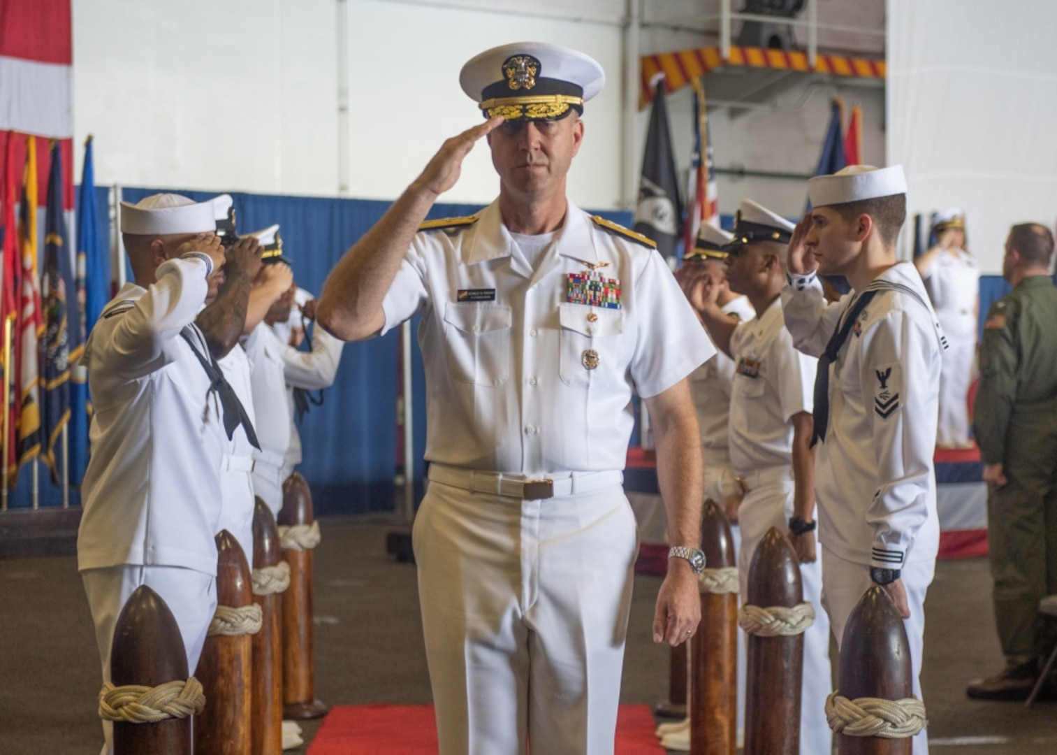 Wikoff Takes Command of 7th Fleet's Task Force 70
