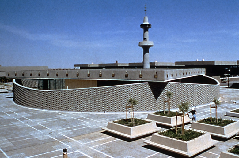 Mosque at the Airborne and Physical Training School, in Tabuk