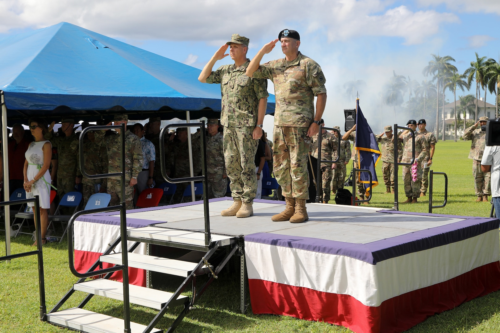 U.S. Army Pacific Bids Aloha to Commanding General Robert Brown