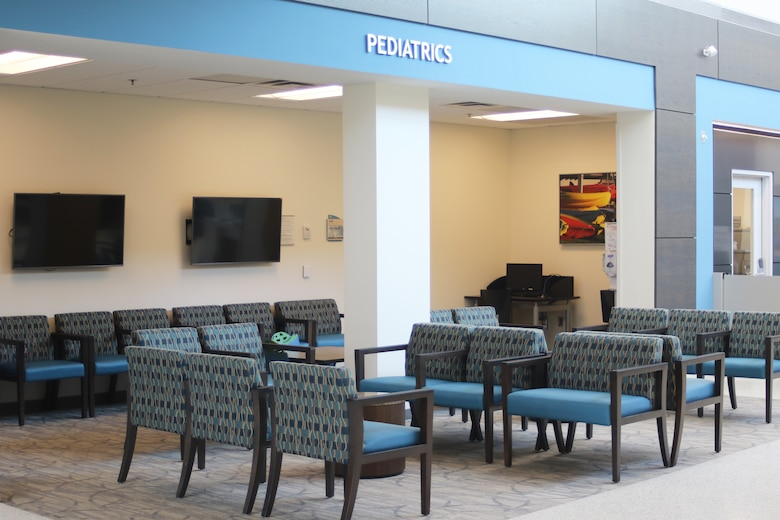 The 110,000 square foot Thomas Koritz Clinic, located at Seymour Johnson Air Force Base, has 24 centers, including flight medicine, family health, pediatrics, women's health, pharmacy and radiology. It serves active duty and retired military members and their families. Courtesy photo.
