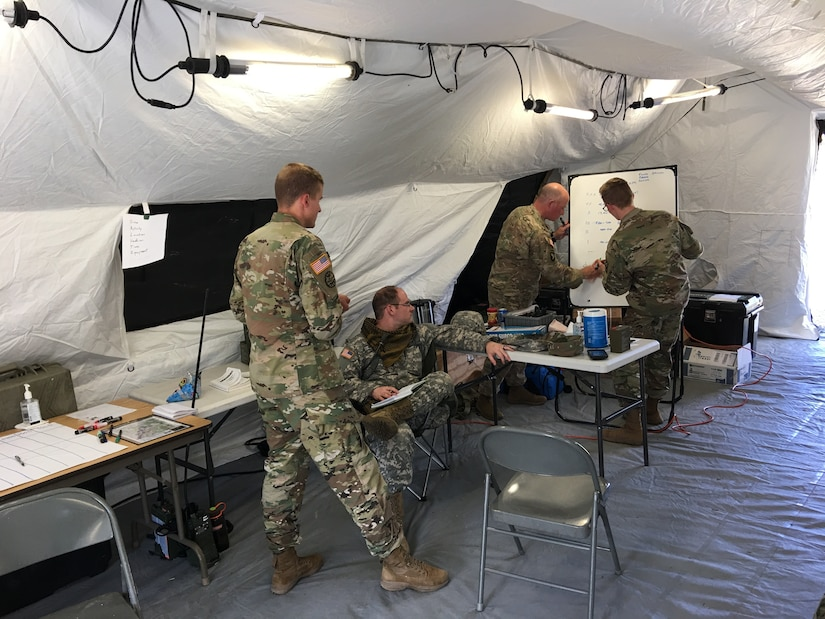 Military Intelligence Soldiers Conduct Training in Northern Utah