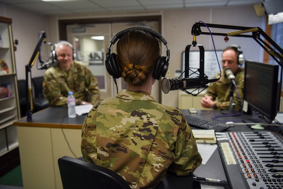 7th AF commander Learns about Wolf Pack COVID-19 Prevention