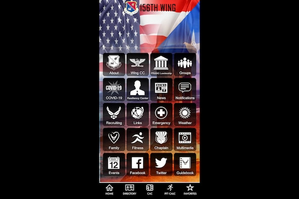 156th Wing mobile app