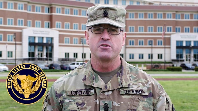 Command Sgt. Maj. Ted Copeland, command sergeant major of the Army Reserve, talks about how the Army Reserve will continue to train and improve individual readiness during the COVID-19 pandemic.