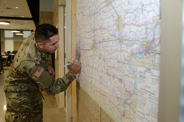 JTF West was set up this week in order to facilitate a fast reaction in the event of larger state emergency need in response to COVID-19.
