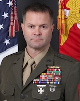 Sergeant Major Brad W. Baiotto, II Marine Expeditionary Force Information Group sergeant major