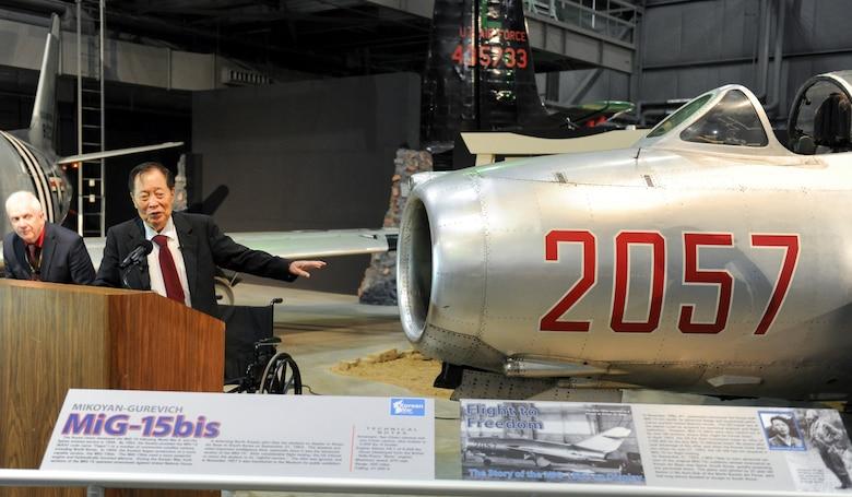 Kenneth H. Rowe North Korean defector from the Korean War.