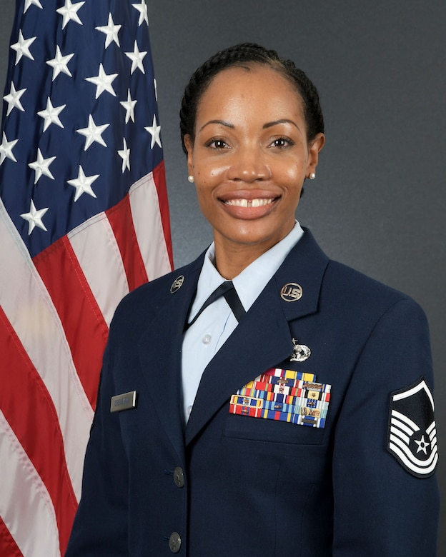 Air Force Reserve Command's Outstanding Senior NCO of the Year is Master Sgt. Sandra M. Crenshaw, 94th Airlift Wing, Dobbins Air Reserve Base, Georgia. (U.S. Air Force photo)
