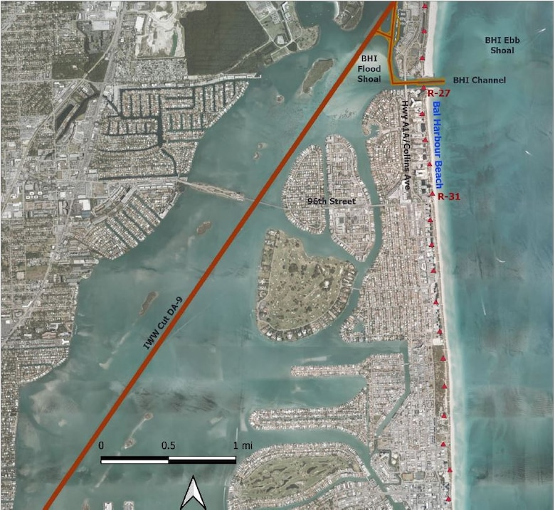 Bal Harbour Aerial Map