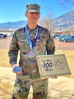 Colorado Reserve Soldier tests mental and physical strength during a 100-mile snowshoe race