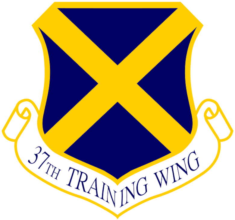 The 37th Training Wing, Joint Base San Antonio-Lackland, Texas, is the largest training wing in the United States Air Force. The Wing operates schools at nine locations throughout the United States with most of its training conducted at JBSA-Lackland. The Wing trains Airmen, Soldiers, Sailors, Marines, Coast Guardsmen, government agencies, coalition partners from over 100 countries and military working dogs.