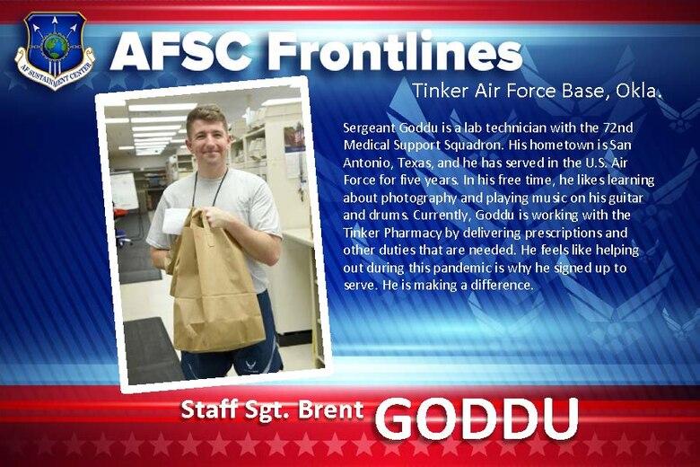 AFSC Spotlight: Staff Sgt. Brent Goddu