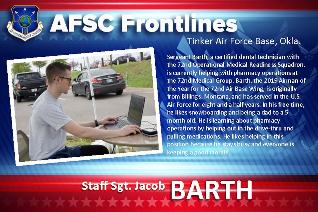 AFSC Spotlight: Staff Sgt. Jacob Barth