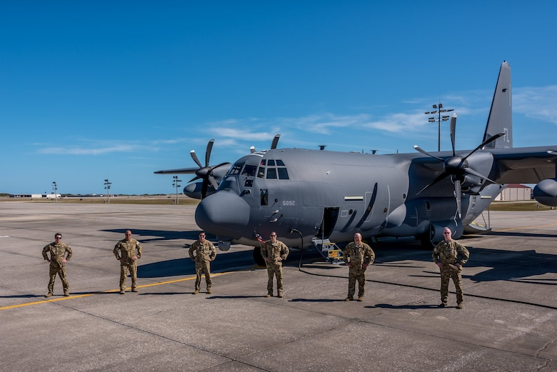 First HC-130J Delivered
