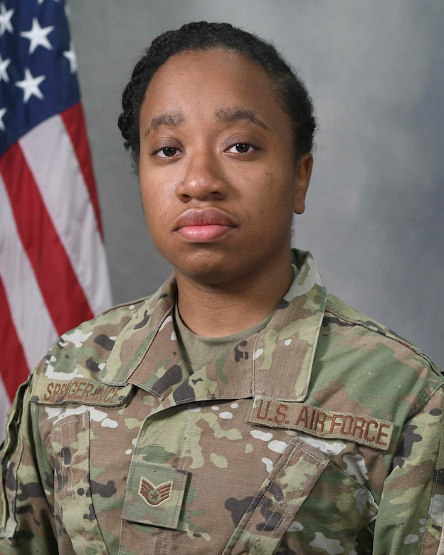 Air Force Reserve Command's Outstanding Airman of the Year is Staff Sgt. Krystin Springer-Ince, 514th Air Mobility Wing, Joint Base McGuire-Dix-Lakehurst, New Jersey. (U.S. Air Force photo)