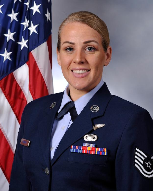 Air Force Reserve Command's Outstanding NCO of the Year is Tech. Sgt. Nicole A. Gansert, 514th Air Mobility Wing, Joint Base McGuire-Dix-Lakehurst, New Jersey. (U.S. Air Force photo)