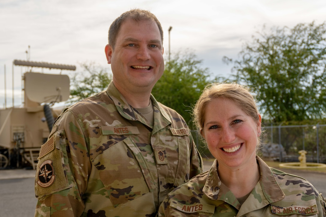 Married couple face adventure of dual-military life
