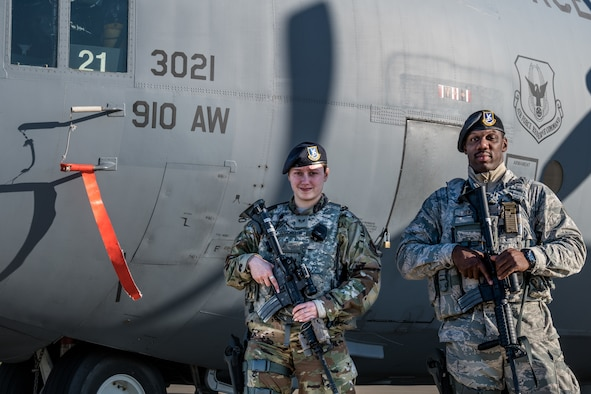 The 910th SFS maintains constant protection of the installation's personnel, assets and infrastructure.