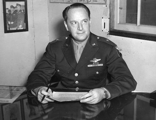 Brig Gen Ralph A. Snavely official photo