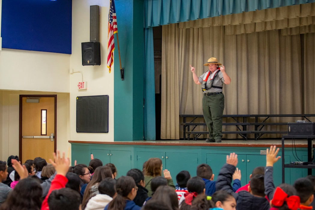 H.V. Helbing Elementary School Water Safety Presentation