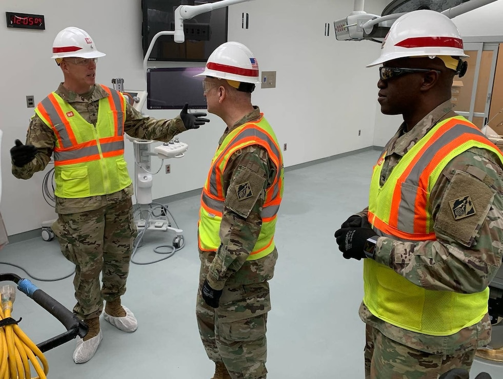 Deputy Commanding General Visits Fort Bliss Replacement Hospital