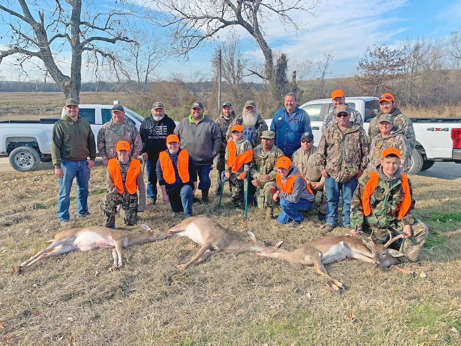 USACE Fort Worth Partners with National Wild Turkey Federation for Disabled Youth Hunt