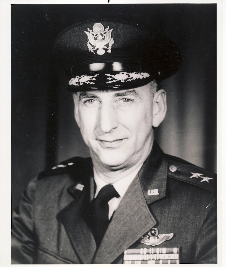 A portrait of Maj. Gen. Kenneth B. Hobson.