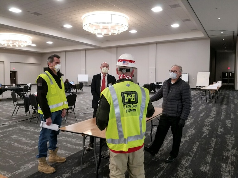 The U.S. Army Corps of Engineers, (USACE), Detroit District, announces it will begin construction on an alternate care facility in Novi, Michigan as efforts to support the Federal Emergency Management Agency (FEMA)-led response to the Coronavirus (COVID-19) Pandemic.
