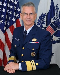 A portrait photo of Vice Admiral Marshall Blaine Lytle III, USCG (Retired)