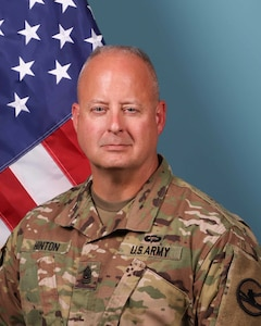 Command Sergeant Major Scott A. Hinton