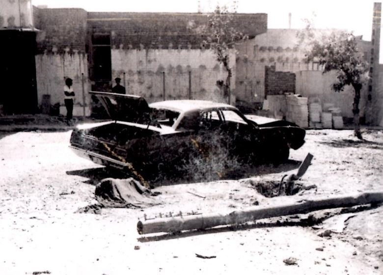 Special Agent Richard F. Law captured this crime scene of an early 1970's assassination attempt against U.S. military personnel in Iran. (Courtesy photo)