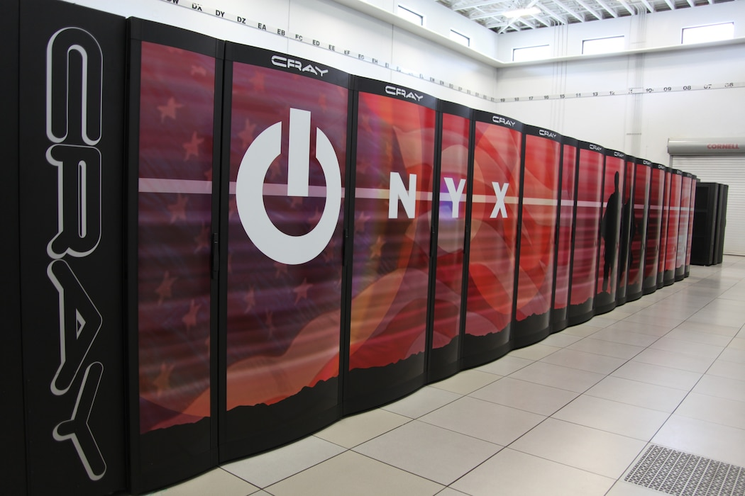 The Onyx Super Computer at the Engineering Research and Development Center.