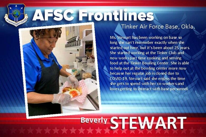 AFSC Spotlight: Meet Beverly Stewart