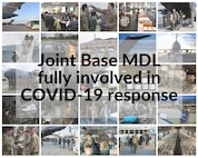 Joint Base McGuire-Dix-Lakehurst members have been at the forefront of supporting multiple aspects of the COVID-19 response over the past several months.