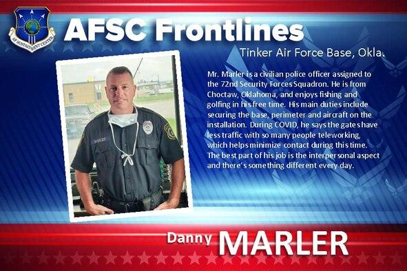 AFSC Spotlight: Meet Danny Marler
