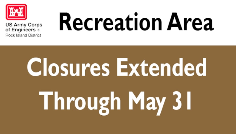 Recreation Area Closures Extended