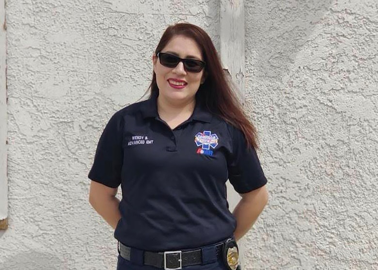 Brizuela has been with the American Medical Response, Inc. for eight years, seven of those as an EMT.