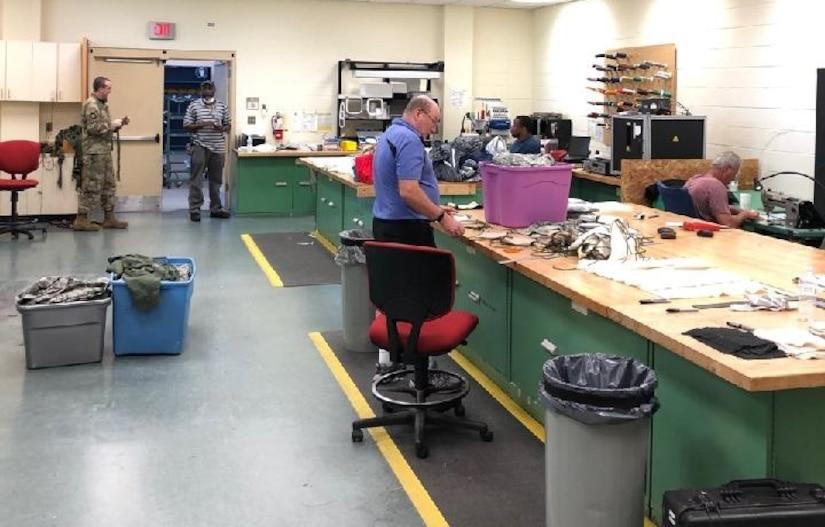 Teaming up to make masks