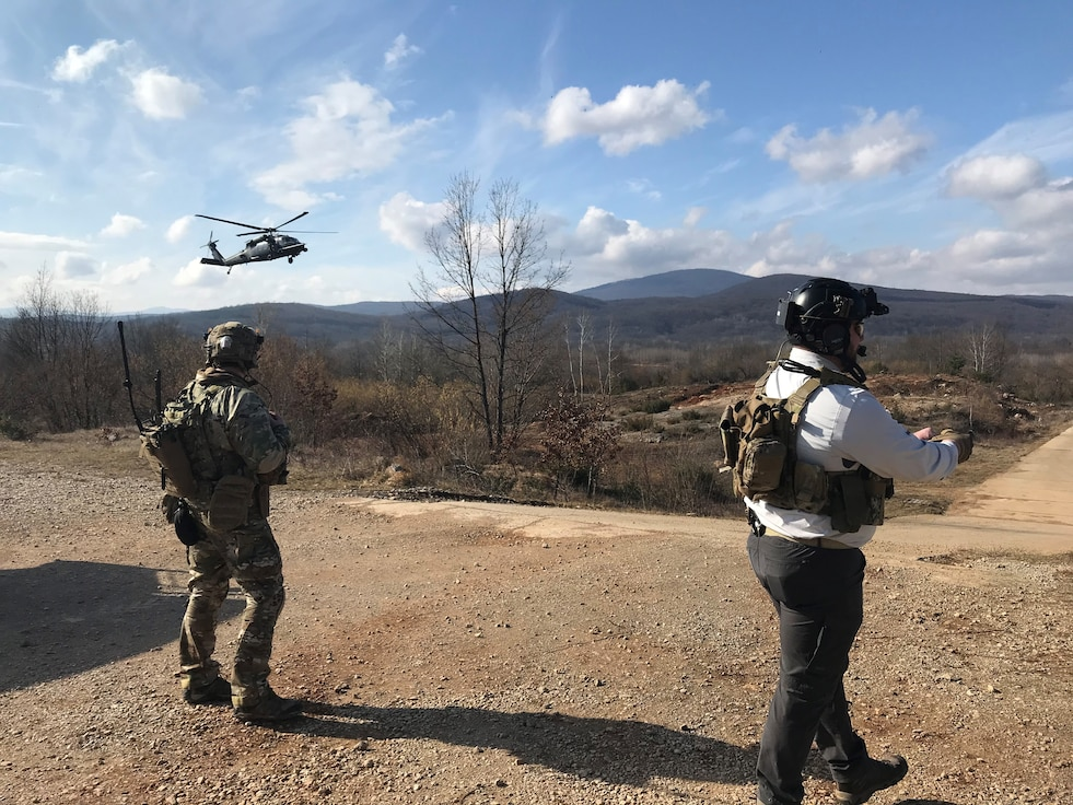 U.S. and Croatian Airmen take part in exercise ODIN SPEAR 20. (Courtesy Photo)