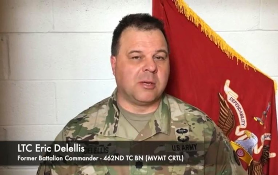 462nd Transportation Battalion conducts its first-ever virtual battle assembly, change of command ceremony during COVID-19
