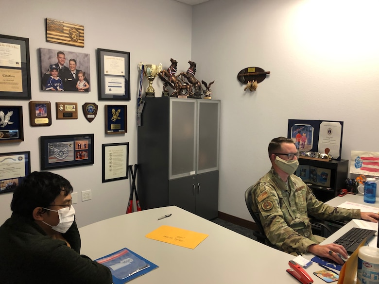 Recruiters use agile methods to ship recruits to Air Force Basic Military Training during the COVID-19 pandemic.