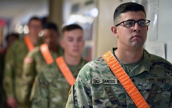 Soldier social distancing.