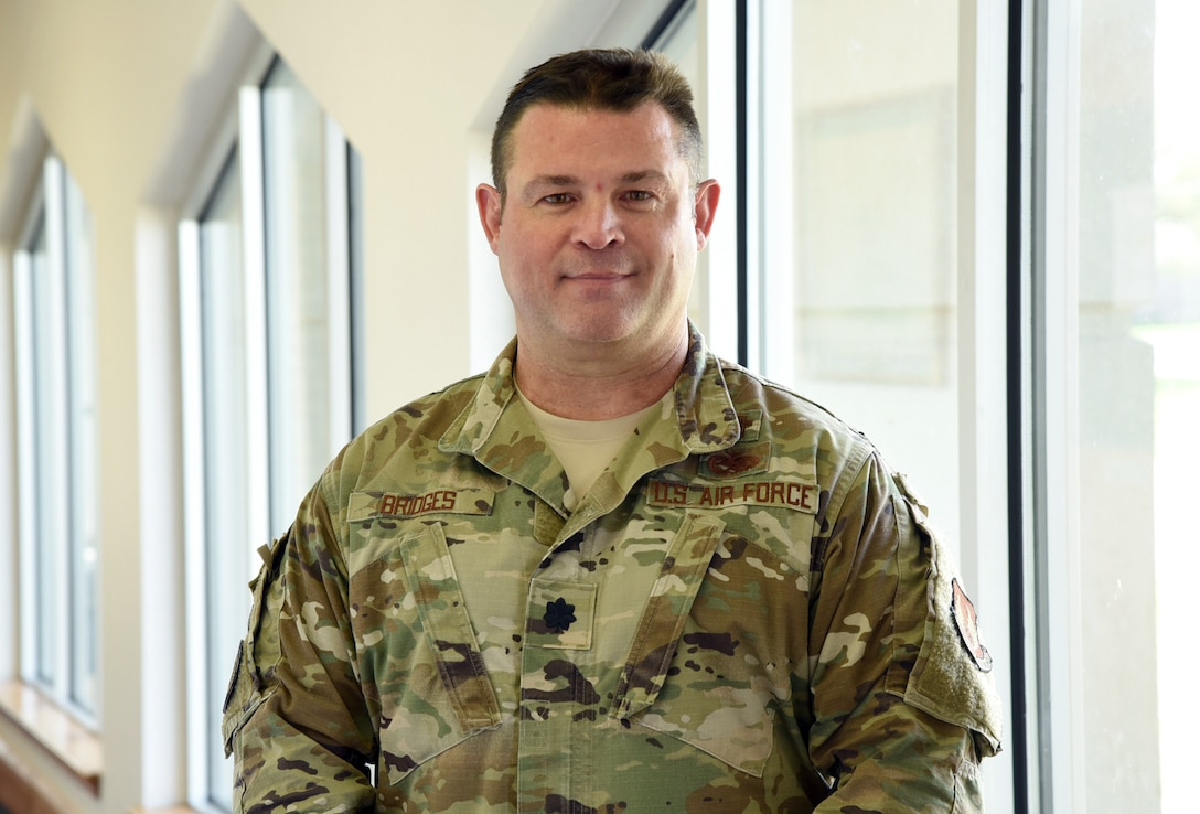 AFSC Spotlight: Meet Chaplain Sam Bridges