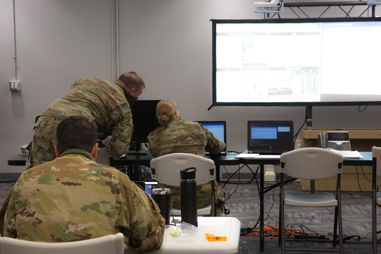 Task Force-Southeast participates in Commander's Update Brief