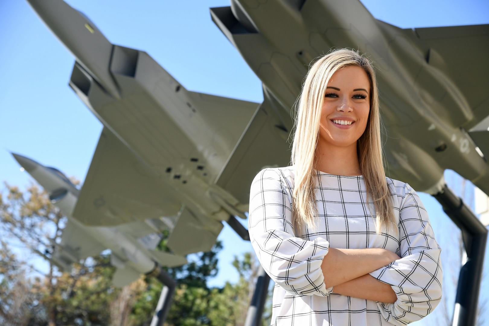 Tara Sugimoto,, first DLA Aviation at Ogden graduate from Air Force Airmen Leadership School
