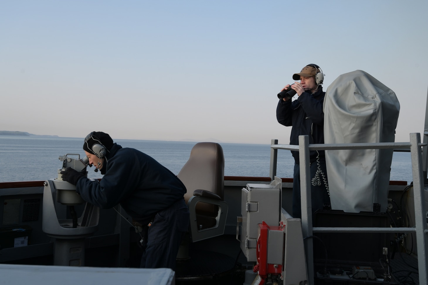 USS Porter in the Black Sea