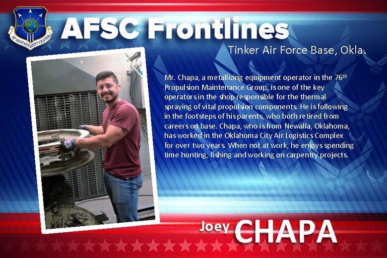 AFSC Spotlight: Meet Joey Chapa